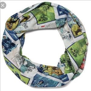 Wizard of Oz infinity scarf thinkgeek